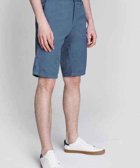 Фото Однотонные Chino-шорты из твила