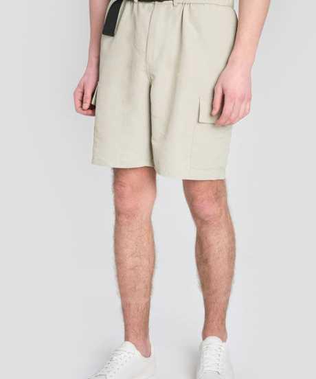 Фото Карго-шорты из нейлона с поясом