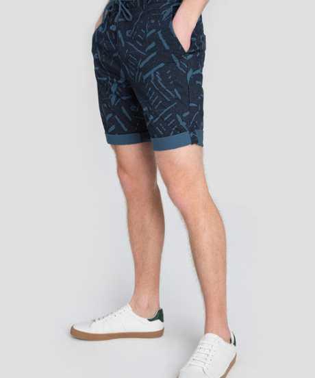 Фото Принтованные шорты Chino с завязками