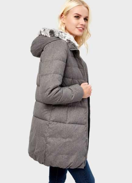 Фото Пуховое пальто