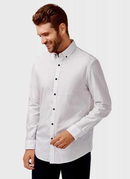 Фото Рубашка из хлопка с принтом