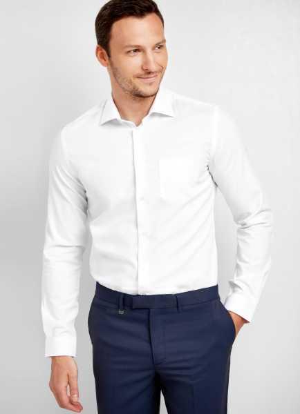 Фото Базовая рубашка из эластичной ткани