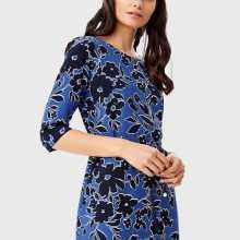Фото Платье с цветочным принтом