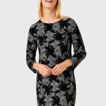 Фото Платье из цветочного жаккарда