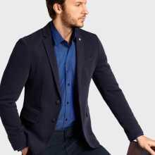 Фото Трикотажный пиджак